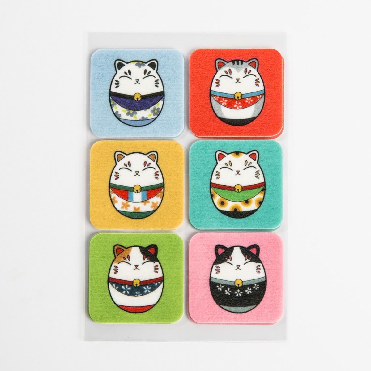 韩国原产summerpatch卡通驱蚊贴防蚊贴多彩瓷娃娃 18枚