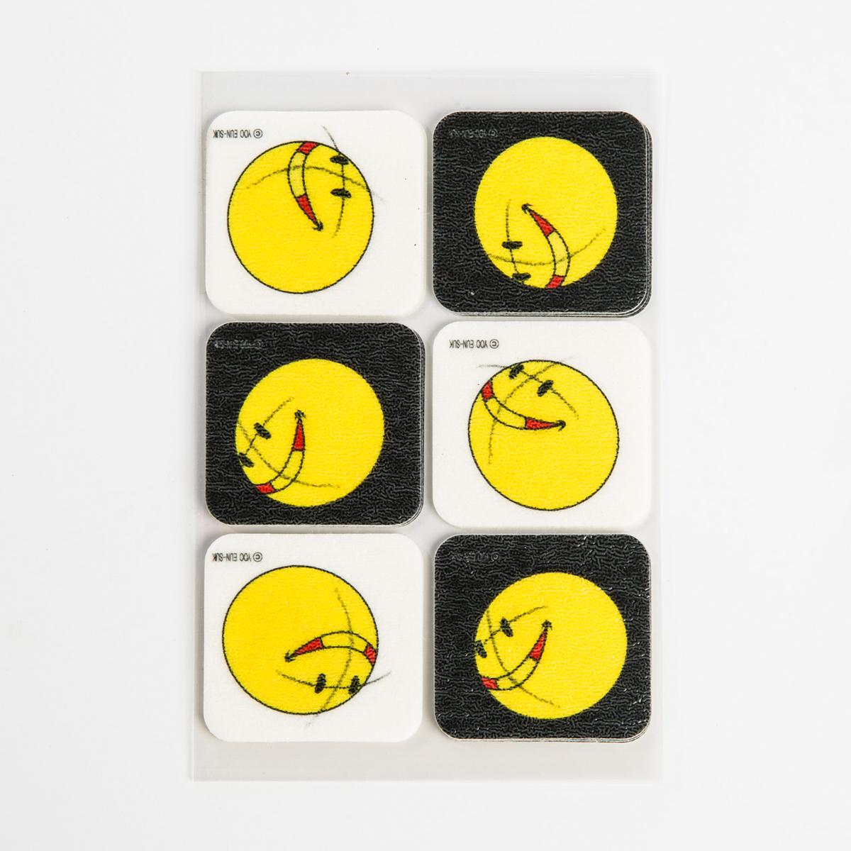 韩国原产summerpatch卡通驱蚊贴防蚊贴大笑的黄脸娃娃 18枚