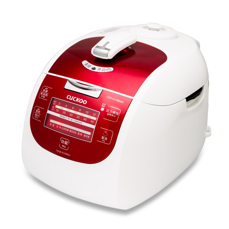 韩国原产CUCKOO福库麦饭石型内胆智能电饭煲电饭锅白色5L 白色