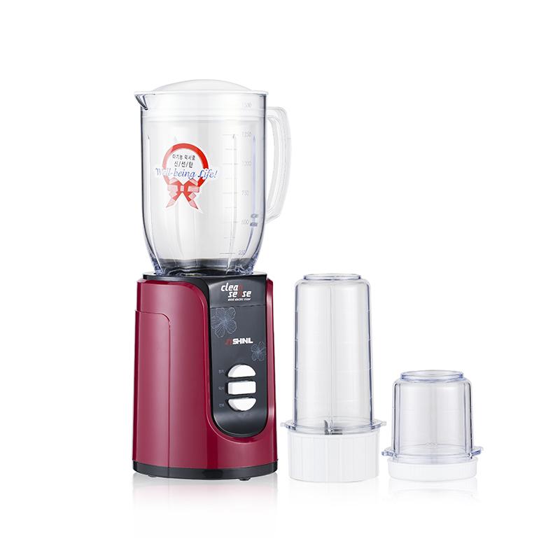 韩国原产信一SHINIL多功能家用搅拌机榨汁料理机果汁机