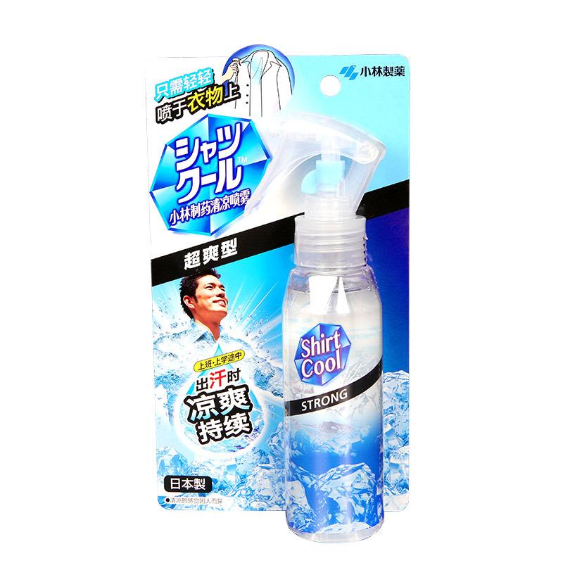 日本小林制药清凉喷雾(超爽型)100ml/瓶 白色