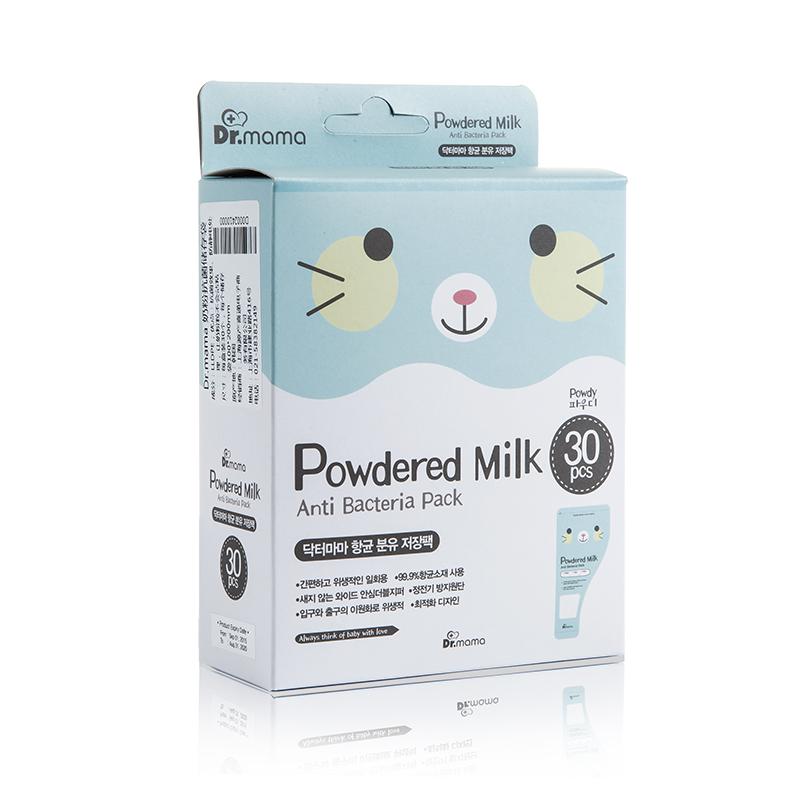 韩国原产Dr.mama便携奶粉储存袋存乳袋冷冻袋