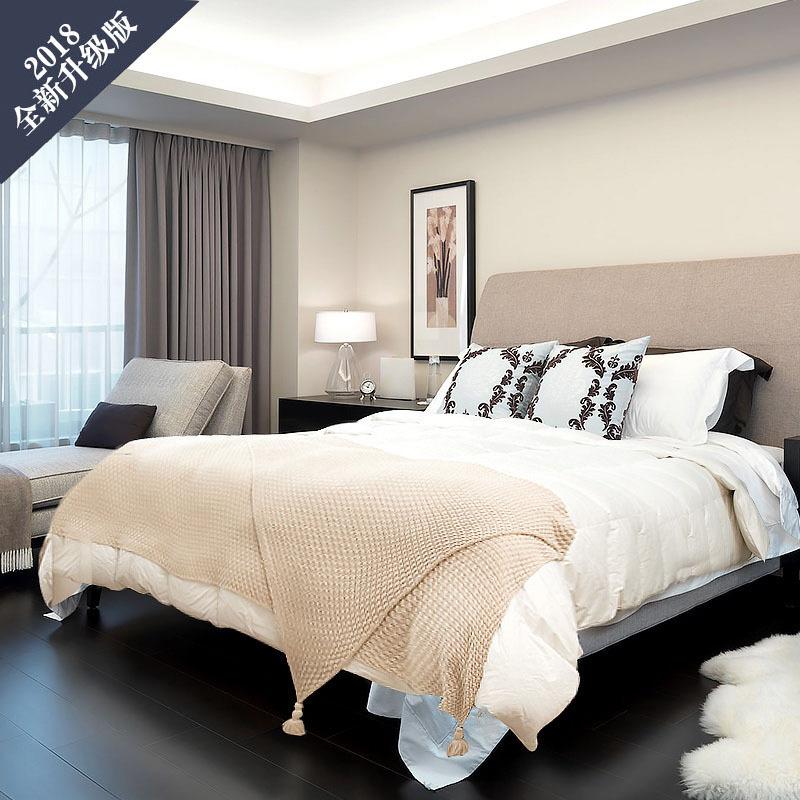 升级版 OBB Royal Bed德国87.3%鹅绒冬被Müritz米里茨系列 白色 200*230cm(适用于1.5m的床)