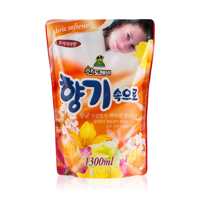 韩国原产Sandokkaebi衣物柔顺剂 小苍兰香 小苍兰香