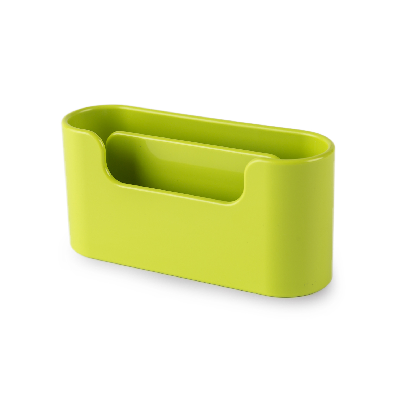 韩国原产aplum 双层商务名片盒收纳盒名片座 绿色
