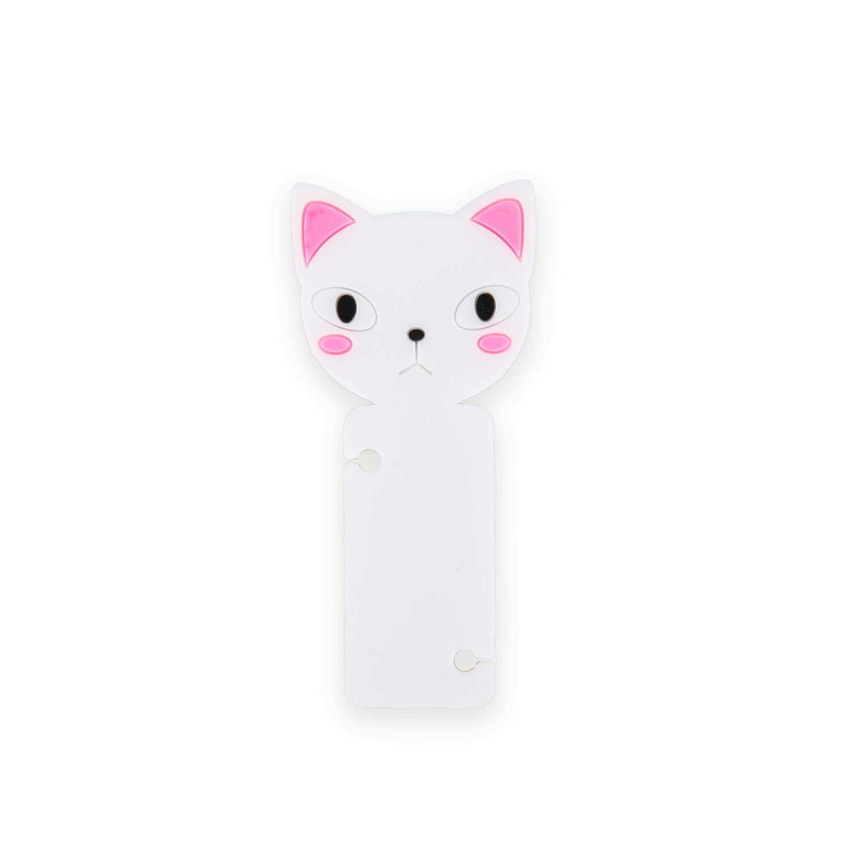 韩国原产CHERRYCAT 可爱猫咪绕线器理线器固线器 白色