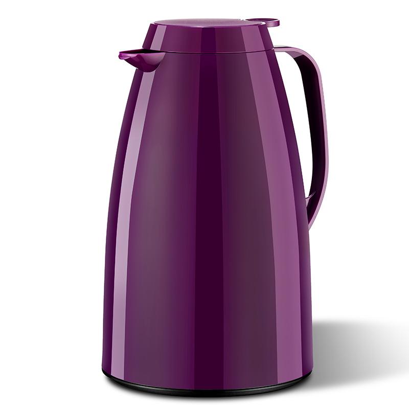 德国原产EMSA保温壶保冷壶家用热水壶basic系列1.5L 蓝紫
