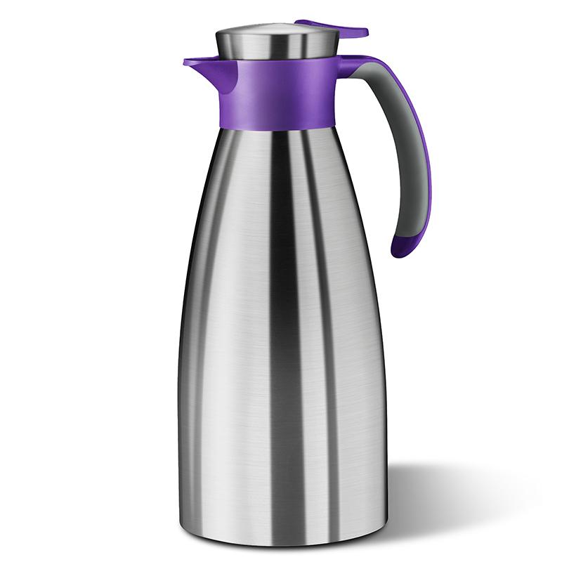 德国原产EMSA保温壶保冷壶热水壶索菲特系列1.5L 蓝紫