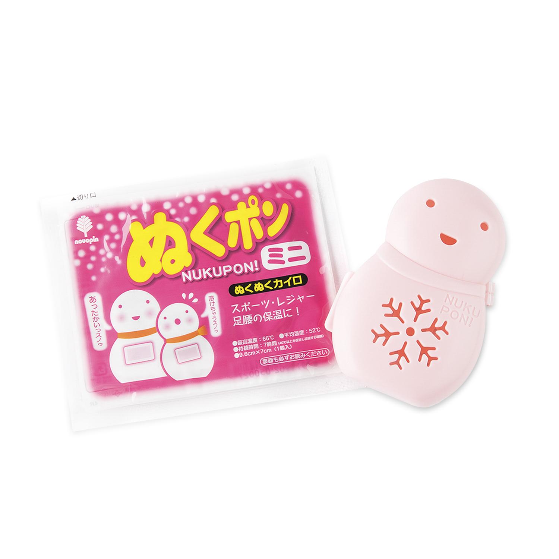 日本原产KOKUBO小久保雪人暖手宝可替换内芯暖贴 粉色