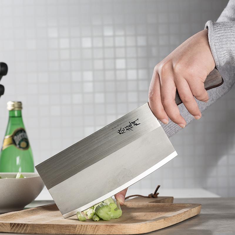 日本原产Tojiro藤次郎不锈钢富士登龙门菜刀FG-68 褐色