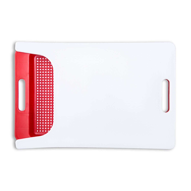 韩国原产doble 创意分层食品级健康PE/PP切菜板砧板案板 大红
