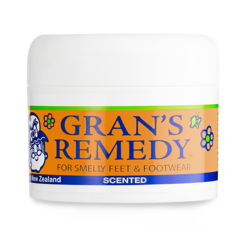 新西兰原产GRAN'S REMEDY 植物鞋粉除臭粉除味粉 花香味