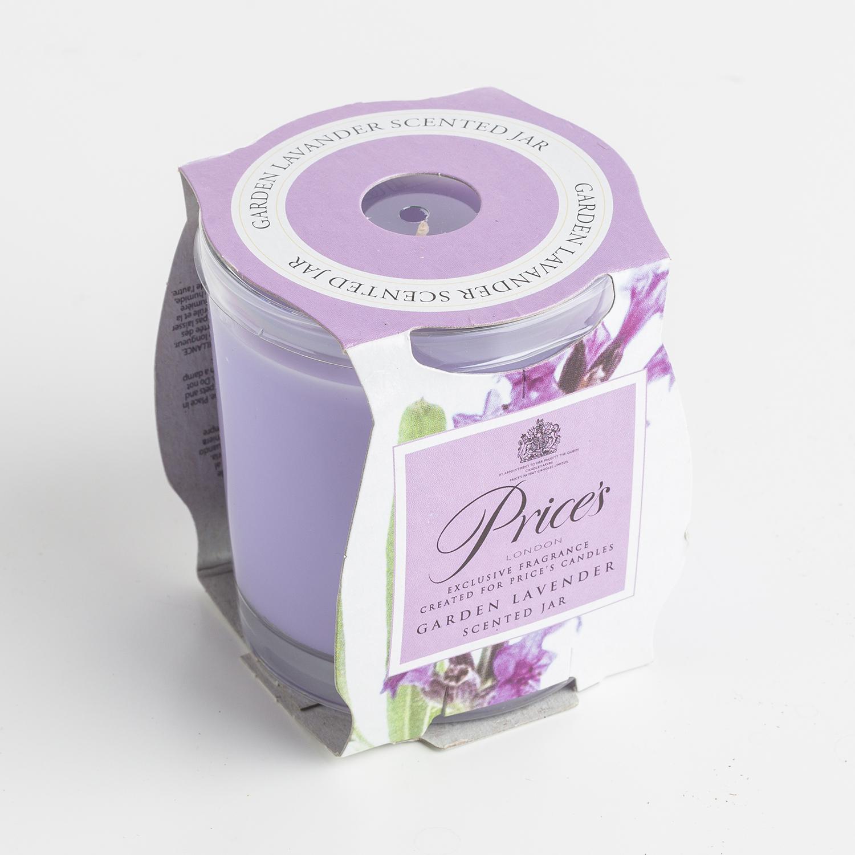 英国原产Price's玻璃香薰蜡烛香氛烛台 薰衣草香味