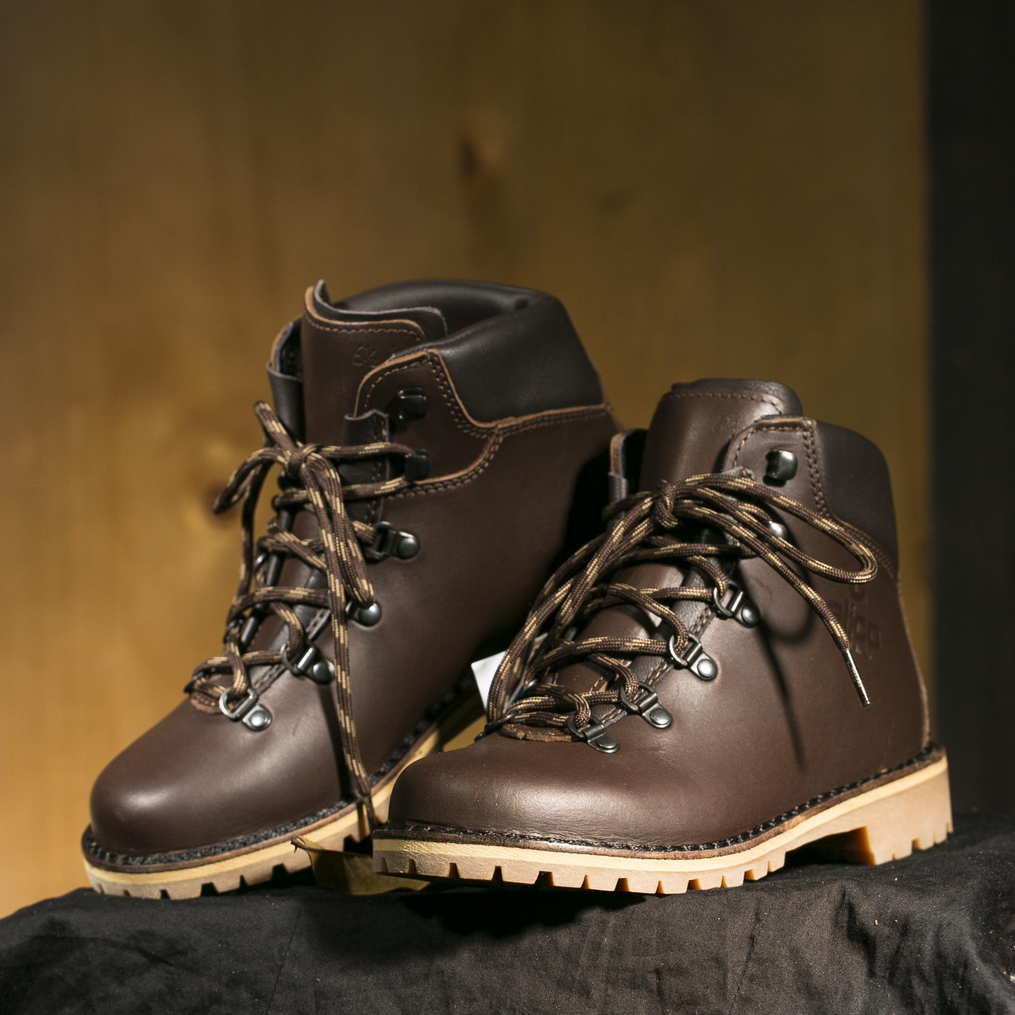意大利原产alico 阿里克专业户外TAHOE塔霍防滑耐磨鞋女士 深棕色 38