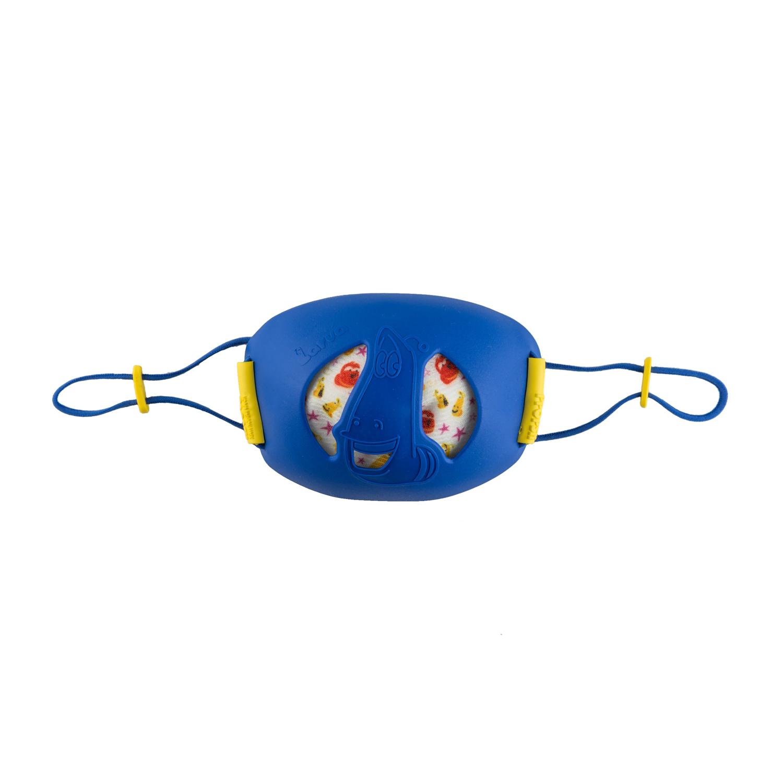 韩国原产Hoooah防雾霾儿童口罩防护口罩6-12岁 蓝色