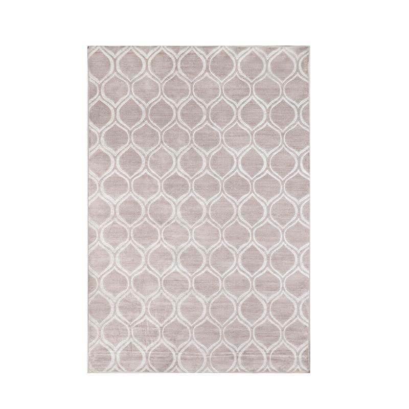 比利时DC carpets原木纤维3D地毯机织地毯地垫Maya系列 银灰色 M  160*230cm
