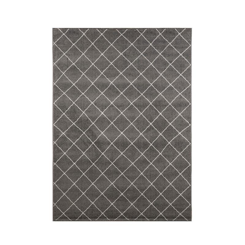 比利时DC carpets超纤维地毯机织地毯地垫Ambiance系列 灰色 M  160*230cm