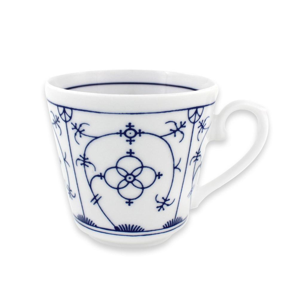 德国原产Eschenbach印度蓝咖啡杯杯子陶瓷咖啡杯0.2L 印度蓝