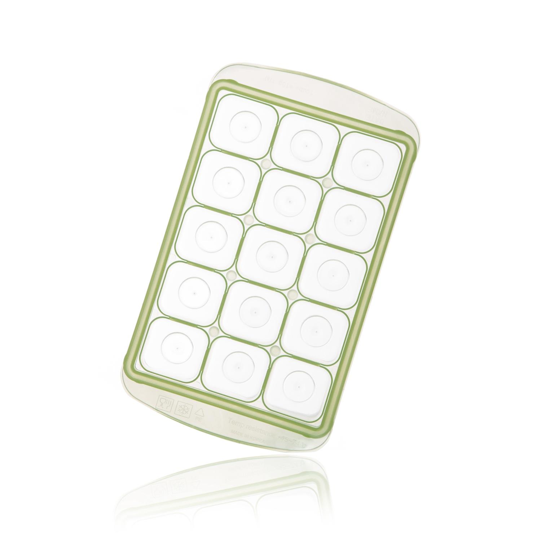 韩国原产RRE一粒粒食物储存格冰模制冰盒中款15格 绿色