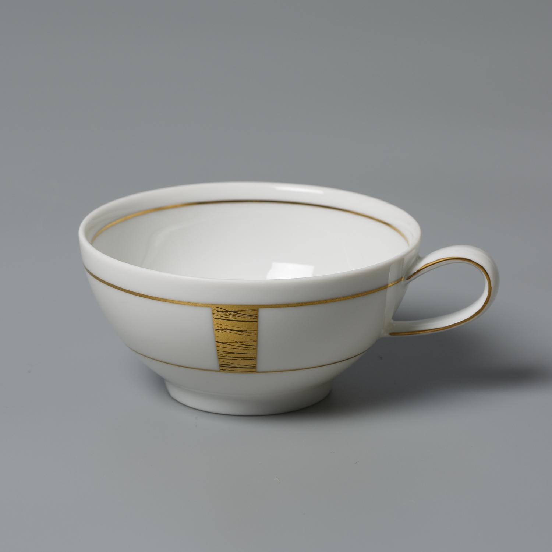 德国原产Seltmann Weiden白底镀金陶瓷水杯茶杯咖啡杯