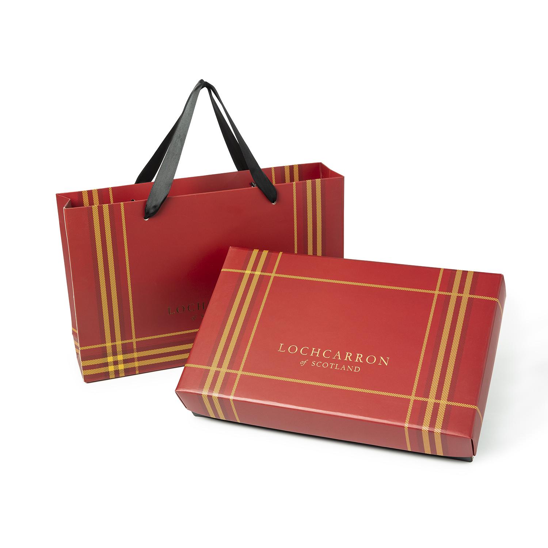 英国 LOCHCARRON of SCOTLAND定制礼品包装盒送礼 混色