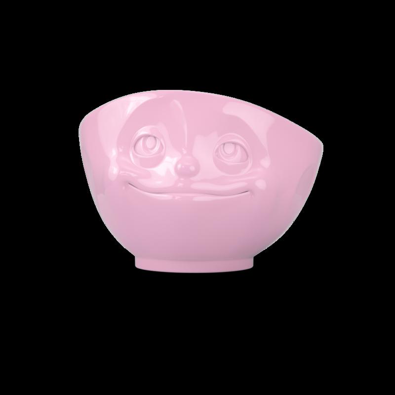 德国原产Tassen陶瓷卡通表情碗马特碗咖啡碗咖啡杯500ml深爱 粉色
