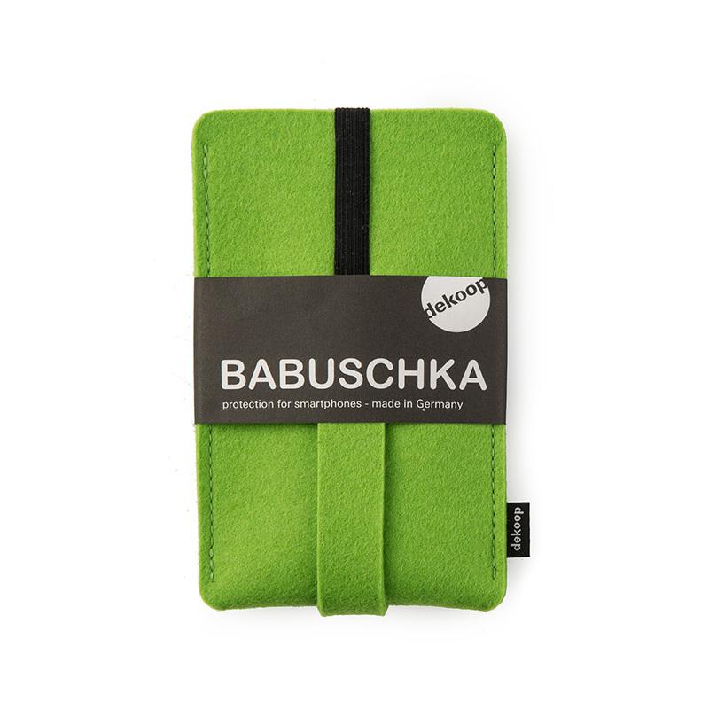 德国原产dekoop防摔毛毡手机保护套 绿色
