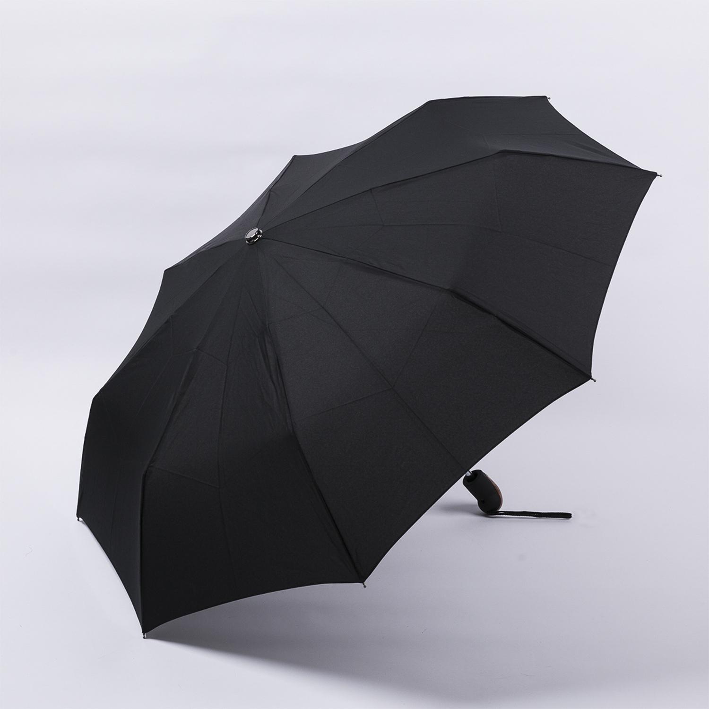 法国源产Guy de Jean男士商务折叠伞  直把 黑色
