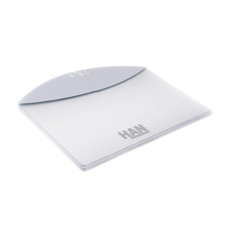 德国原产HAN有机环保字母卡片式归纳盒 白色
