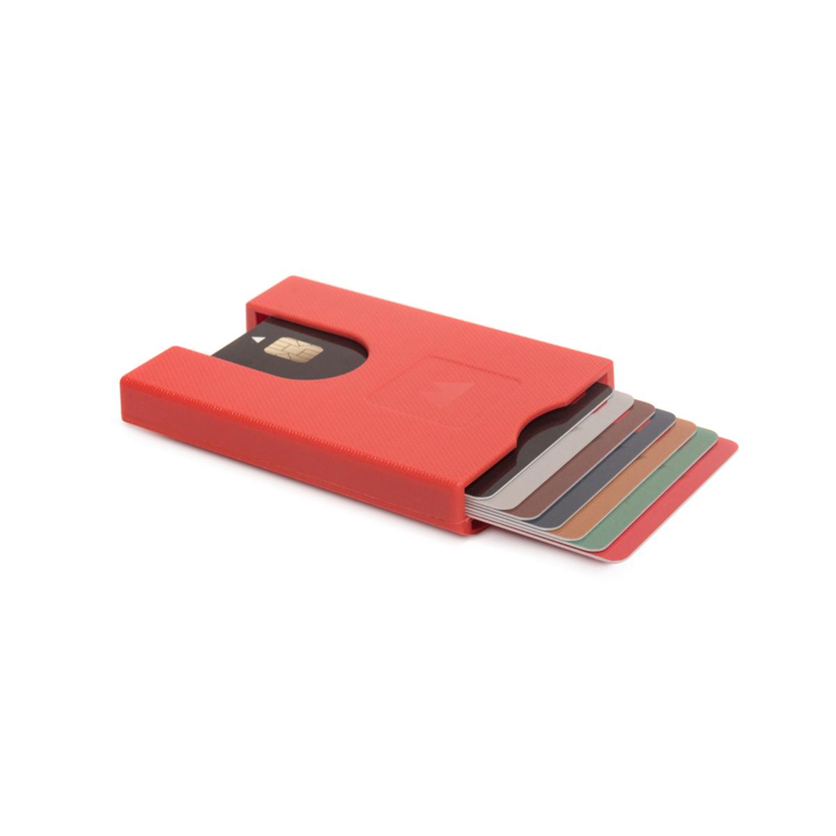 荷兰原产WALTER WALLET多卡合一卡包卡套卡夹 深红色