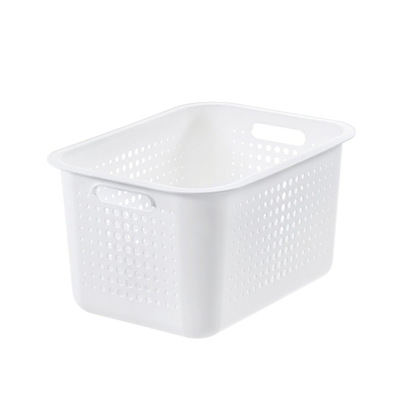 瑞典原产SMART STORE储物收纳篮储物篮 白色