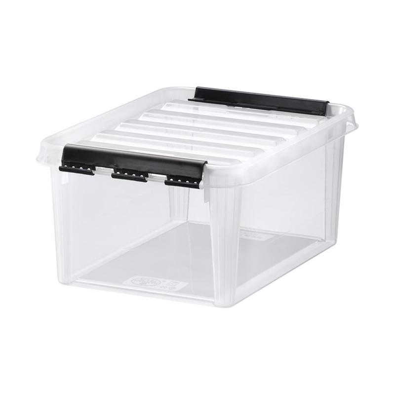 瑞典原产SMART STORE家居收纳盒储物盒收纳箱8L 透明
