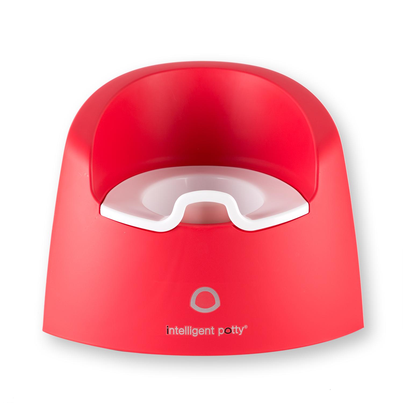 比利时原产Intelligent potty 儿童智能坐便器小马桶 宝红色