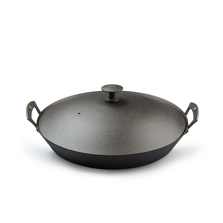 英国原产Netherton手工双耳煎炒锅26cm 黑色