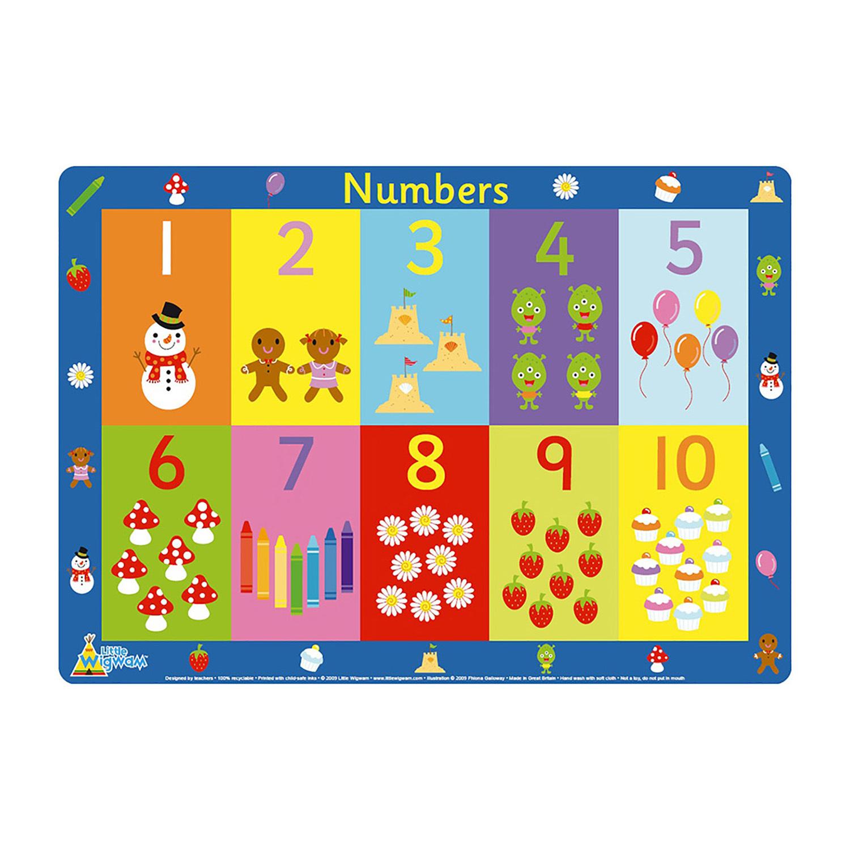 英国原产Little Wigwam 30块数字拼图 彩色