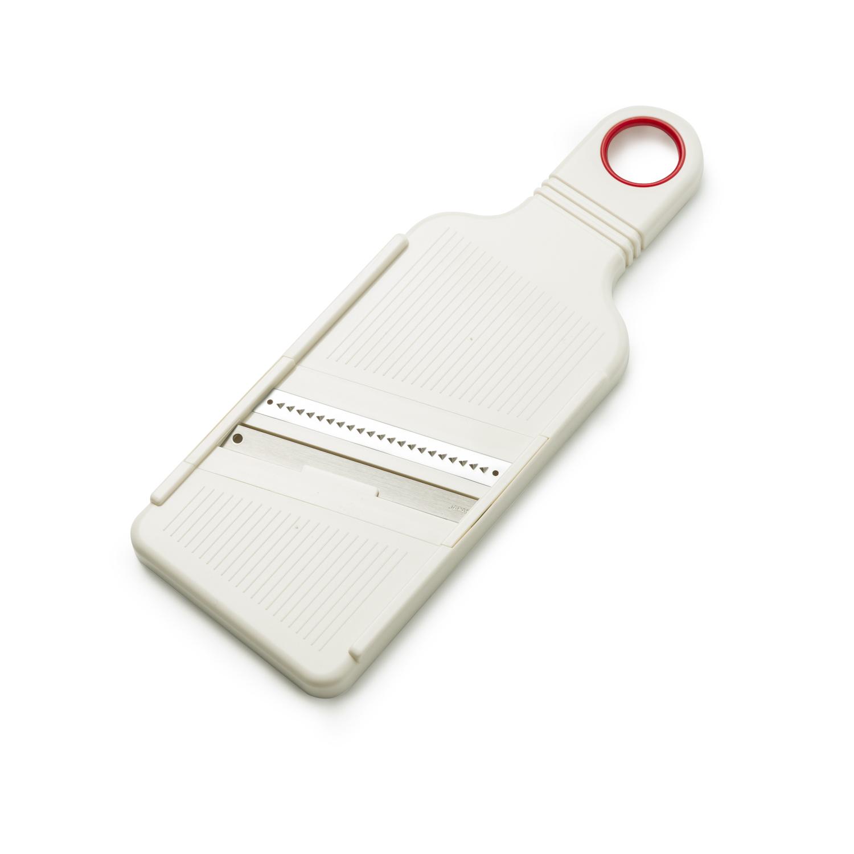 日本原产ECHO不锈钢切丝器家用多功能切菜器刨丝器 白色