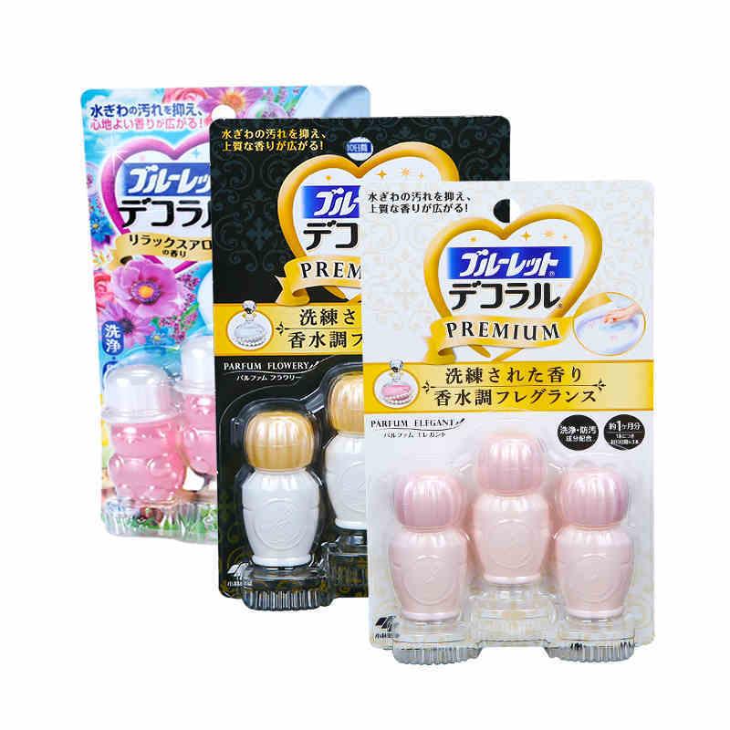 日本小林制药凝胶花瓣3件装(自然花香+香水花香+优雅香水)