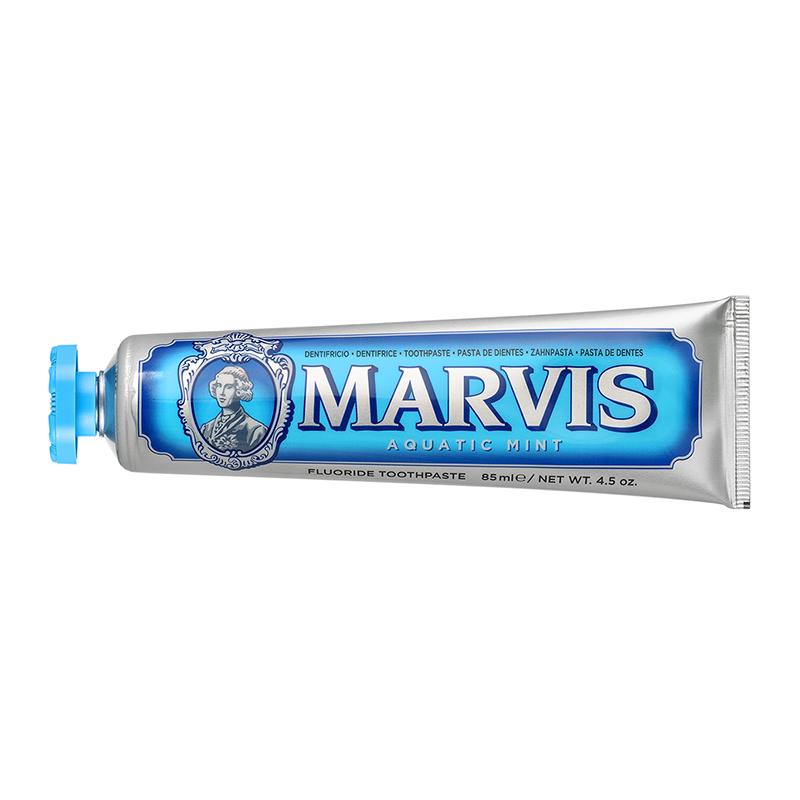 意大利MARVIS清新海洋薄荷牙膏85ML 蓝色
