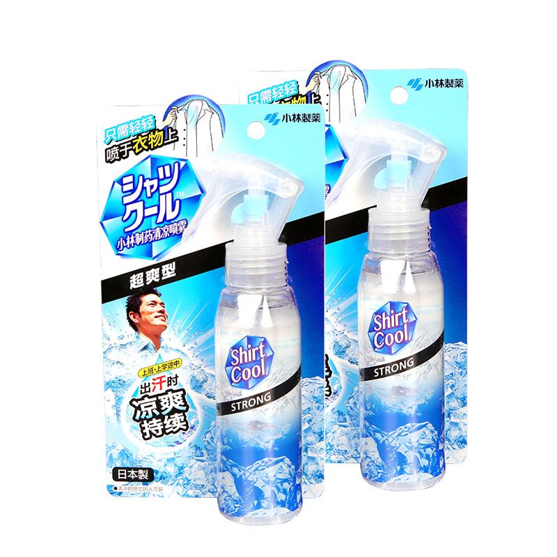日本小林制药清凉喷雾2件装(超爽型) 白色