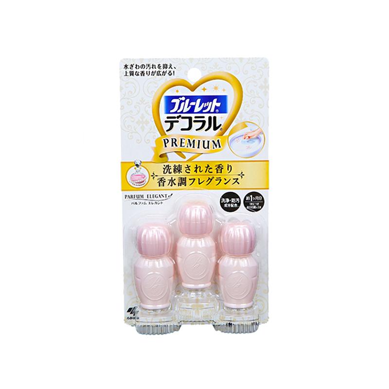 日本小林制药洁厕灵凝胶花瓣除臭剂22.5g/盒 优雅花香