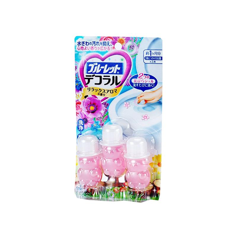 日本小林制药洁厕灵凝胶花瓣除臭剂22.5g/盒 自然花香
