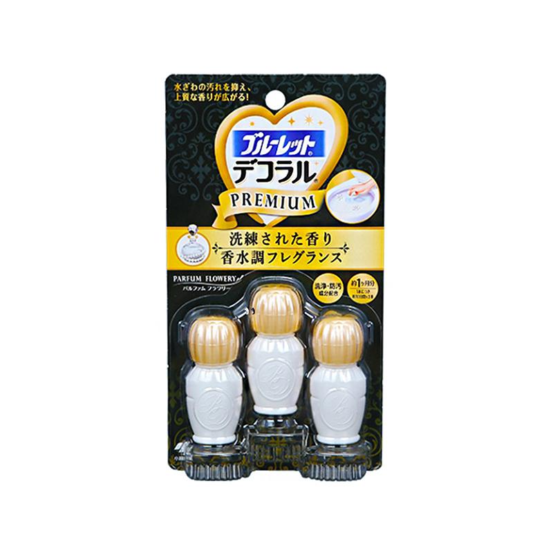 日本小林制药洁厕灵凝胶花瓣除臭剂22.5g/盒 香水花香