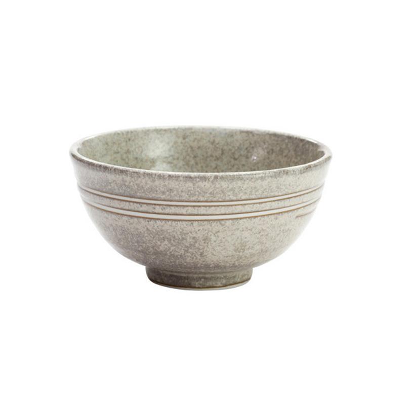 日本原产ceramic 蓝森林系列饭碗餐碗 旋涡图案