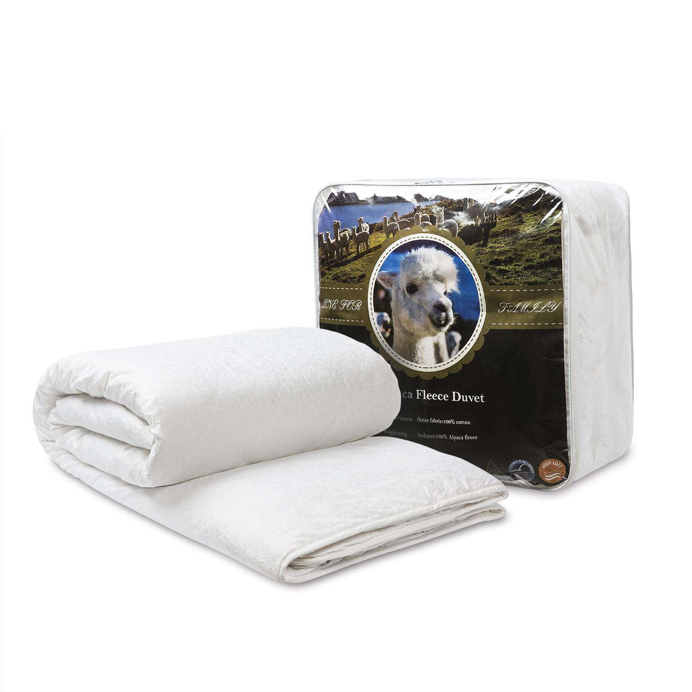 新西兰原产CRIA 羊驼毛双人被四季被澳大利亚产 白色 200*230cm