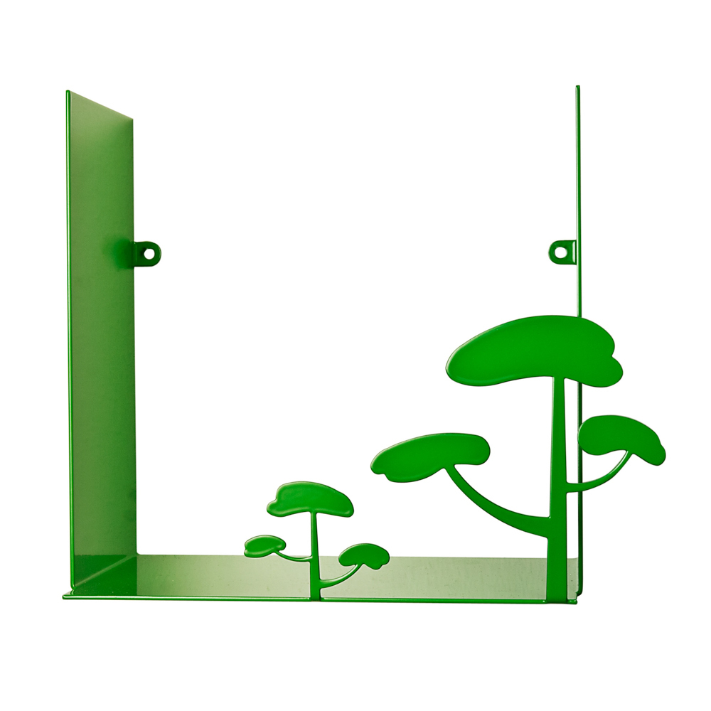 瑞典原产pluto Produkter金属置物架 小树 绿色