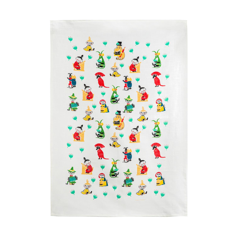 瑞典原产Optodesign 姆明系列厨房多用擦手洗脸毛巾姆明 彩色