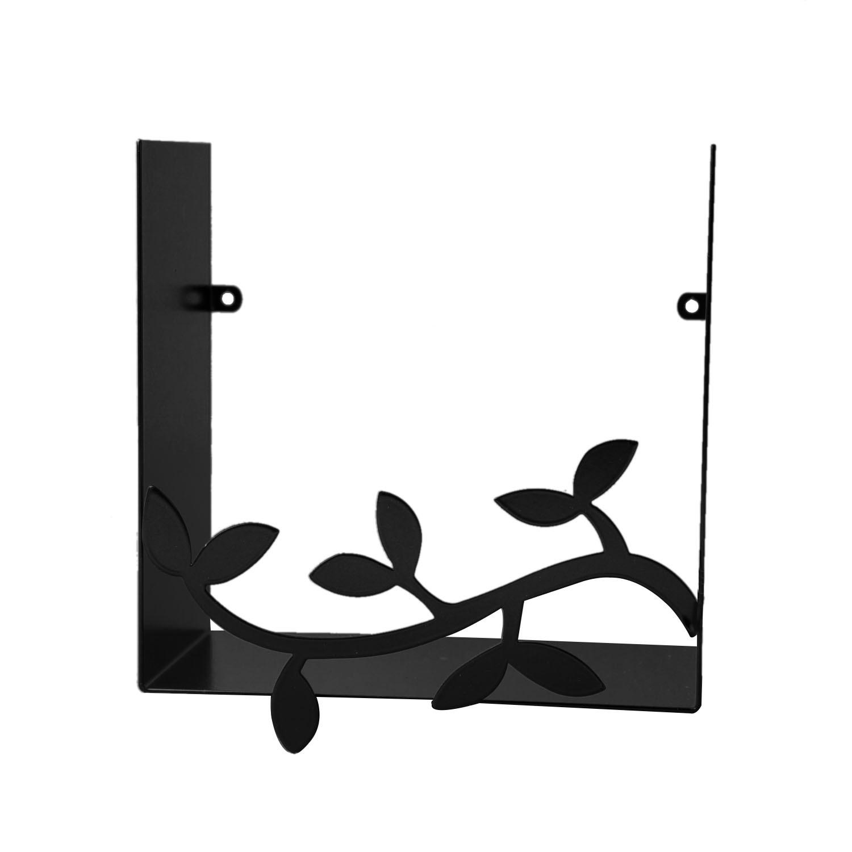 瑞典原产pluto Produkter金属置物架杂物储物架书架 树枝 黑色