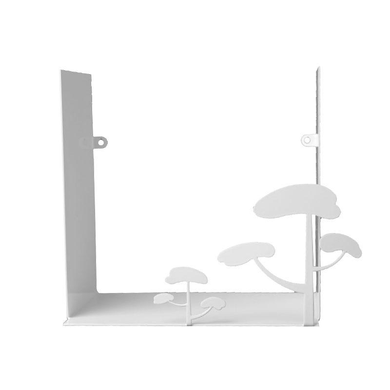 瑞典原产pluto Produkter金属置物架杂物储物架书架 树枝 白色
