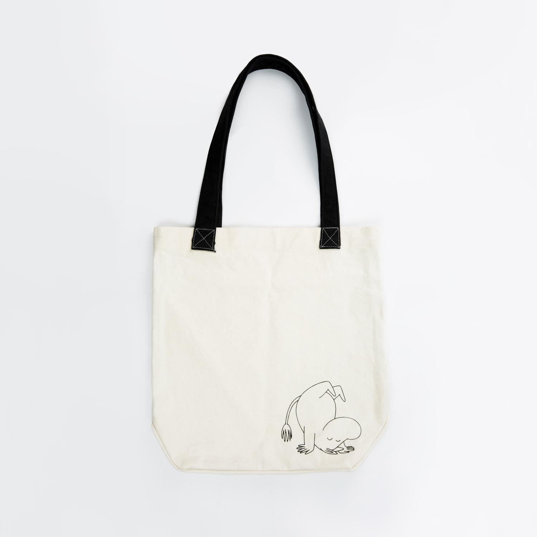 瑞典原产Optodesign 姆明系列帆布购物袋百搭手提袋 姆明 白色