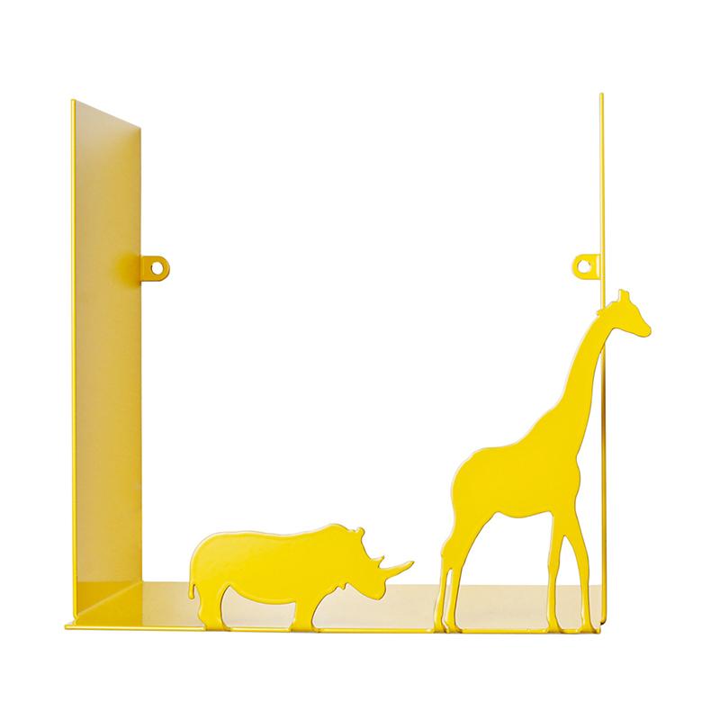 瑞典原产pluto Produkter金属置物架杂物储物架书架 征途 黄色